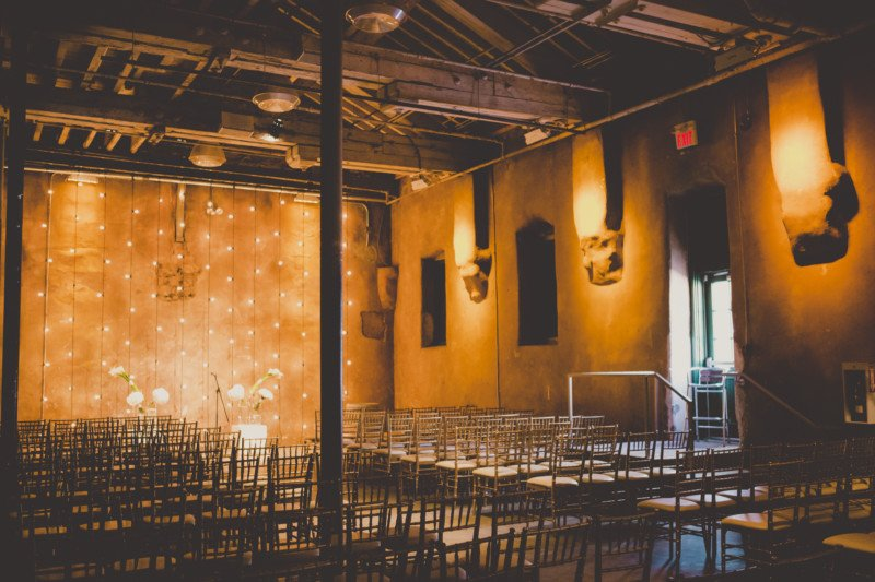 Both the ceremony and reception were held at the Fermenting Cellar in the historic Distillery District. The mood and lighting for the ceremony looked ... & whimsical elegance at the fermenting cellar - Olive Studio